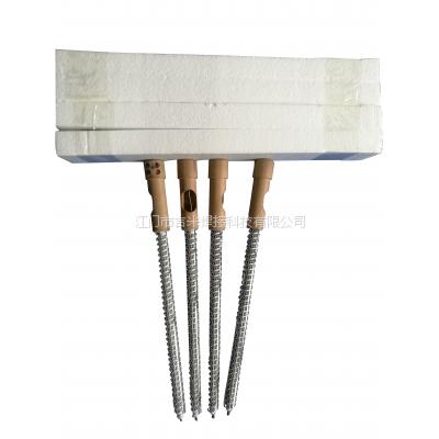 供应发热丝 服装加工设备零 JIMIWELD吉米牌电热管 压胶机加热管 热风机发热管