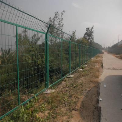 小区护栏 坡地防护网安装 专业加工绿色围网