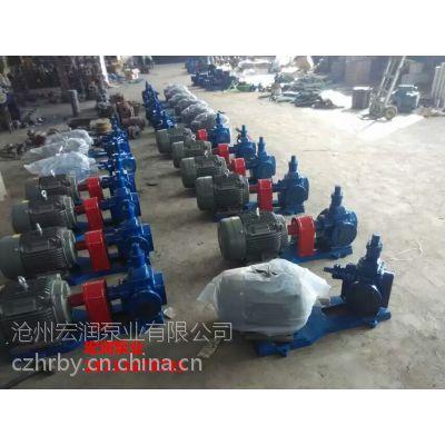 YCB-10/0.6型圆弧齿轮泵-梅河口化工定制17台