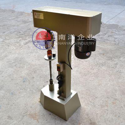 广州南洋半自动铝盖锁盖机 电动手动旋盖机定制质量保证规格齐全