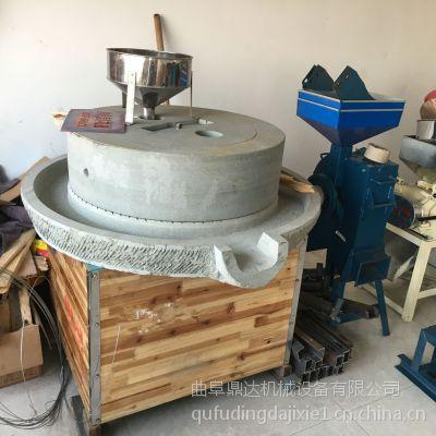 鼎达生产定做豆浆石磨机 家用米浆电动石磨