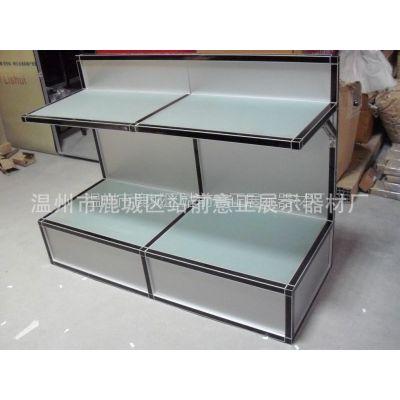 厂家供应铝合金优质展示柜台推门