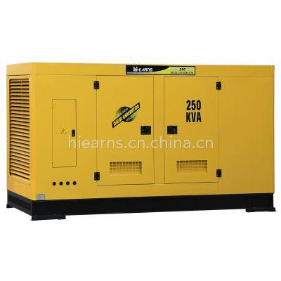 250KVA 康明斯发电机 静音款 带数码面板和ATS