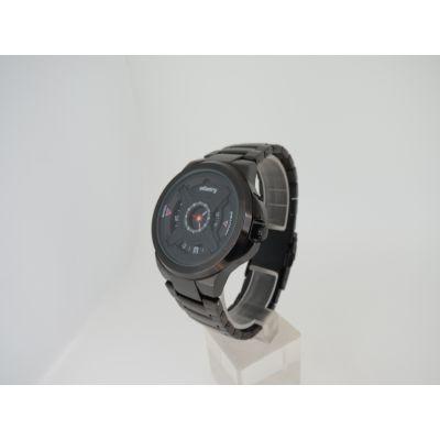 稳达时 时尚黑钢 秒盘不锈钢手表 专业手表代工厂家 手表定做