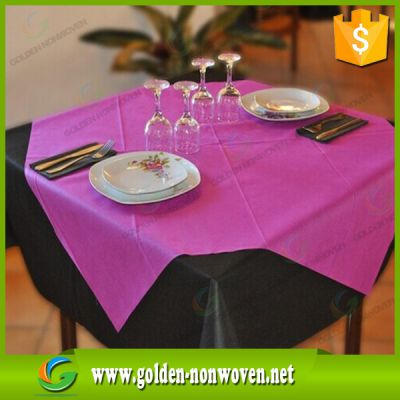 45gsm NonWoven table cover 1m*1m tnt tablecloth