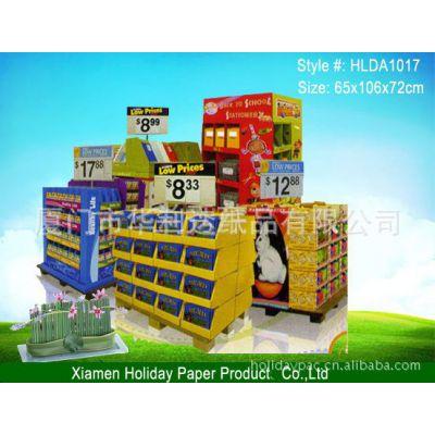供应专业生产超市货架,堆头,陈列架等。