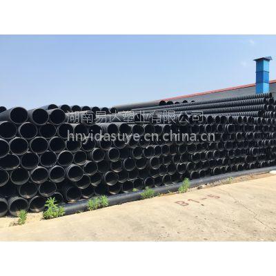 益阳PE钢带管热销品牌易达塑业产品价格优惠 运输成本低