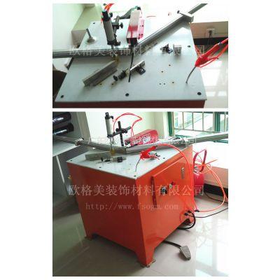 供应专业生产晶钢门铝材切割机