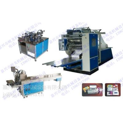 峻龙JL-CB型全自动抽式面巾纸生产线