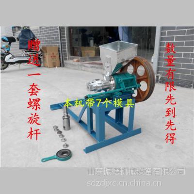 大米玉米制作空心棒专用机械 振德 食品膨化机价格