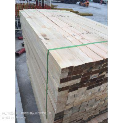 珠海建筑木方厂家销售5*10辐射松木方