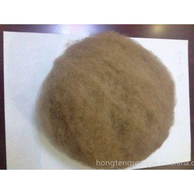 供应现货出售优质驼绒-鸿腾绒业