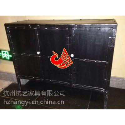 杭州中餐厅复古备餐柜厂家制造/餐饮家具/餐厅小餐边柜厂家