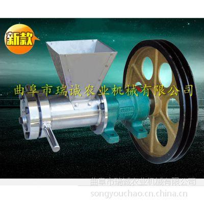 瑞诚A型 厂家专业制造膨化机 自熟型 小型食品专用面粉膨化机