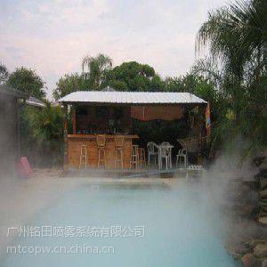 清远园林景观造雾工程,雾森人造雾节能设计方案