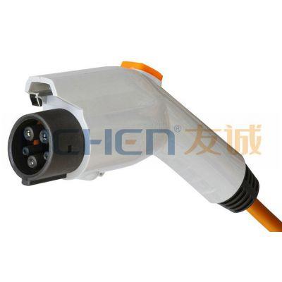 供应V2-DSS-EV16/32/70P美标交流充电插头