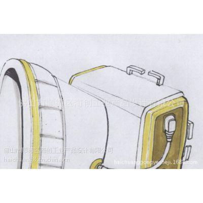 供应户外头灯外观设计、结构设计、产品造型设计服务