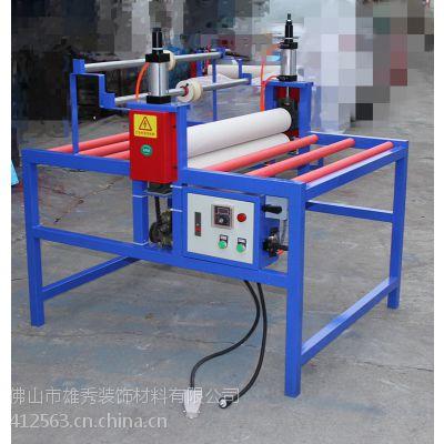 晶钢门覆膜机玻璃贴膜机气动覆膜机精准覆膜机人气