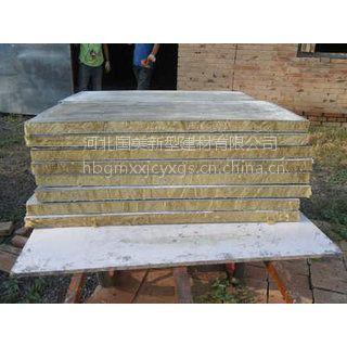 河北廊坊岩棉复合板用于节能保温工程的施工