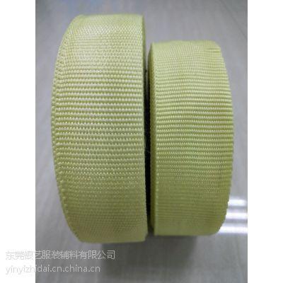 (银艺织带)防火阻燃、高强拉力、耐切割,芳纶纤维芳纶织带,辊道带