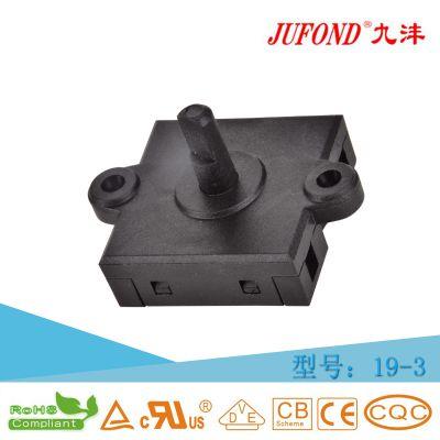 19-3 九沣JUFOND生产批发带耳旋转转换档位微动开关