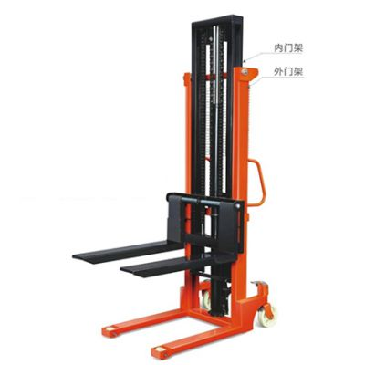 上海牛力机械手动液压堆高车多少钱一台?堆垛车的价格是多少?CTY-EH升高3米