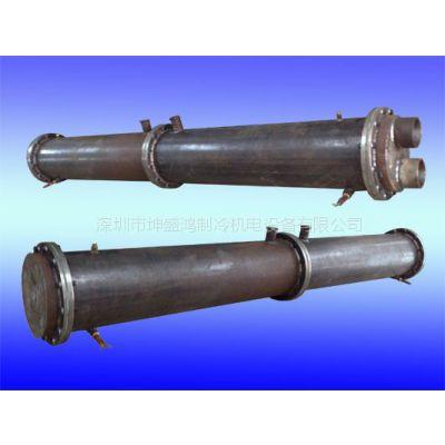 3HP壳管式冷凝器蒸发器,油冷却器,海水冷凝器【厂家供应】