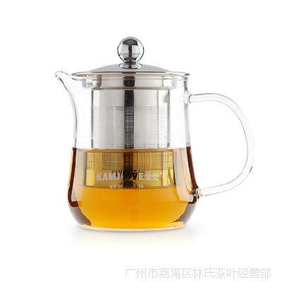 KAMJOVE/金灶A-15茶道杯泡茶壶飘逸杯玻璃茶具正品花茶杯水杯