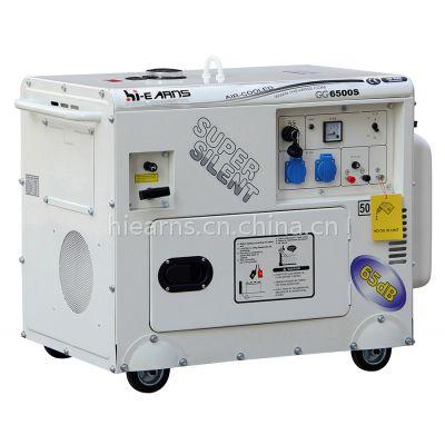 5KW 汽油静音发电机组 家用静音型 便携移动款