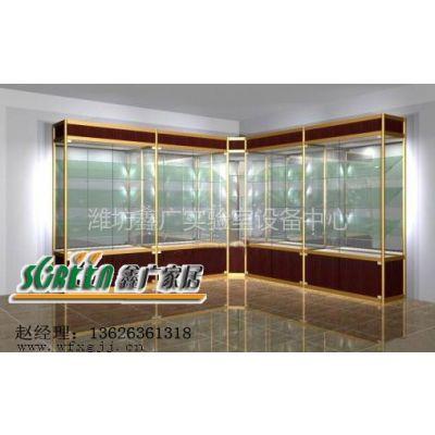 供应潍坊铝合金展柜|潍坊汽车精品展柜|潍坊汽车地台|展示架|货架|柜台0313