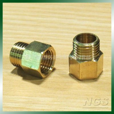 供应两分黄铜内外丝接头TPUMF02