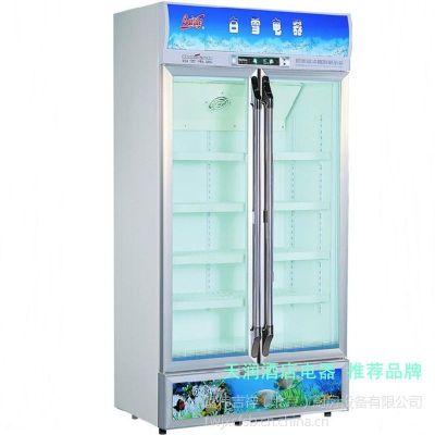 供应白雪SC-400FA冷藏展示柜 白雪玻璃门冷藏冰箱