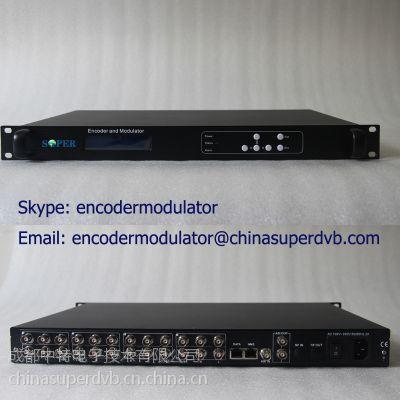 有线电视机房前端设备编码器 8路MPEG2/H.264编码器 数字电视产品产品 CS-10801C