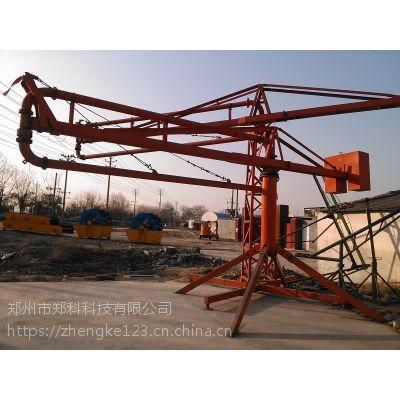 福建南安郑科十五米手驱动布料机操作方式