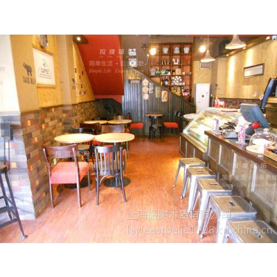 供应甜品店圆桌 甜品店实木桌子 甜品店实木圆桌 工厂直销可按要求定制