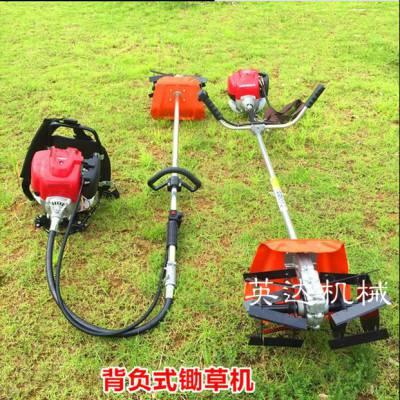 【一人参与全家受益】农用果园除草机 背负式割草机 小型松土机
