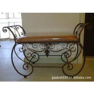 供应铁艺沙发床、椅子