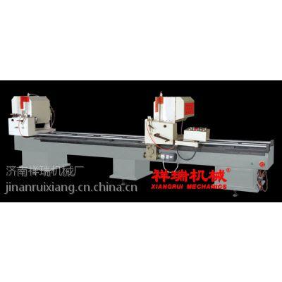 供应铝合金门窗机器LJZ2-450X3700铝型材双头切割锯(06型)