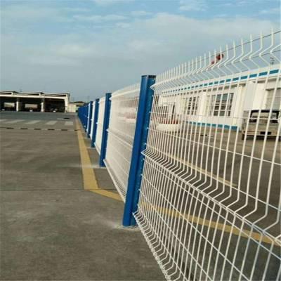 旺来双边丝护栏网厂 花园护栏网 院墙防护网