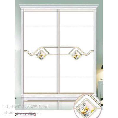 佳汇厂家供应雕刻镶钻木板衣柜门款式多、颜色多外观优雅、高档、美观