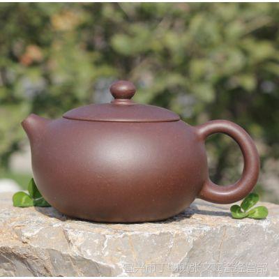自产自销批发宜兴紫砂壶原矿扁西施手工紫砂壶高档茶具茶壶礼品