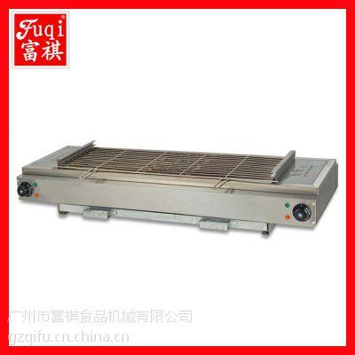 富祺EB-110电热无烟烧烤炉 烤鸡炉 烧烤机 物美价廉