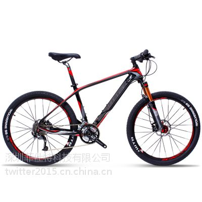 新款山地自行车 骓特TW8900超轻碳纤维自行车 加盟代理