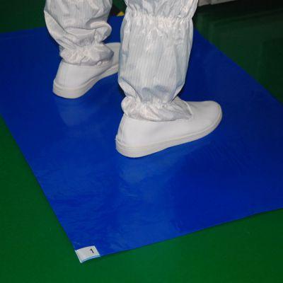 厂家直供无尘室用品 粘尘垫 防静电粘尘地板胶 尘除尘垫