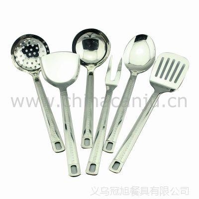 【厂家供应】长城格厨具   锅铲 勺 不锈钢 厨具套装 烹饪勺
