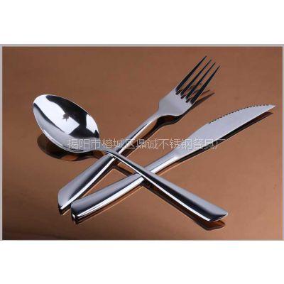 鱼尾圆勺/餐厅餐具/不锈钢勺/西餐厨房用具/汤勺/创意批发