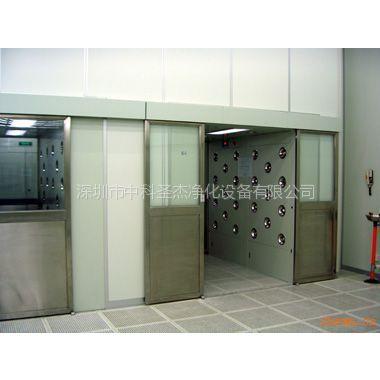 供应平移自动门货淋室 中科圣杰快速卷帘门 货淋室报价