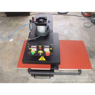 工厂直销成衣热转印机器 半自动烫钻机 气动双工位烫画机40*60