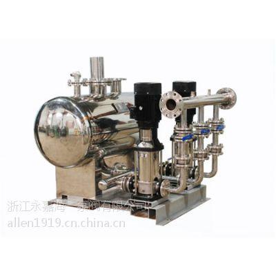 供应WZG型无负压增压稳流不锈钢供水给水设备