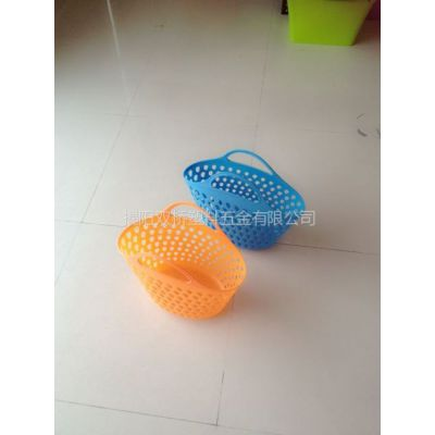 供应揭阳豪华塑料超市篮批发